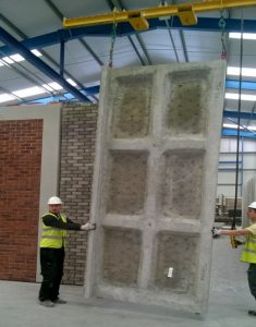 New GRC Brick-faced cladding - european building materials